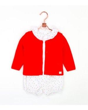 Openwork knit cardigan CARREMENT BEAU NEWBORN GIRL