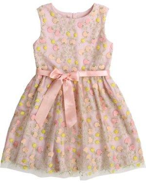 Printed dress with belt CHARABIA KID GIRL