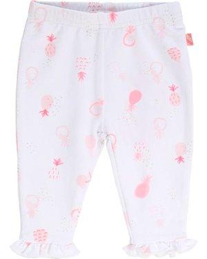 Frilled fleece trousers BILLIEBLUSH INFANT GIRL