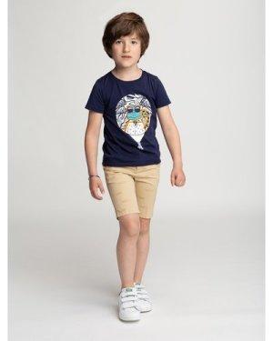 Illustrated cotton T-shirt BILLYBANDIT KID BOY