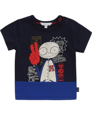 Two-toned printed T-shirt THE MARC JACOBS INFANT BOY
