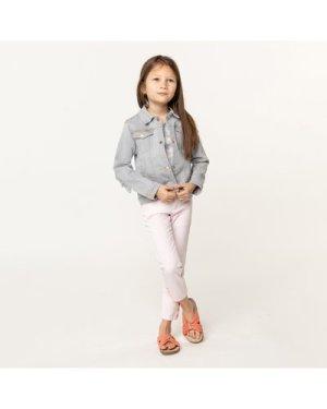 Slim-fit adjustable trousers CARREMENT BEAU KID GIRL