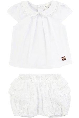 T-shirt and bloomers set CARREMENT BEAU NEWBORN GIRL