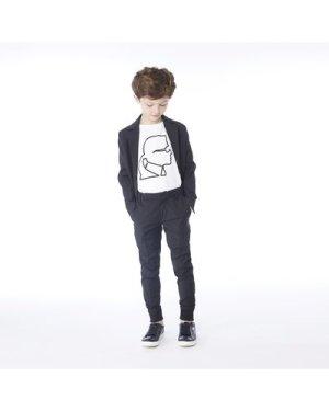 Buttoned suit jacket KARL LAGERFELD KIDS KID BOY