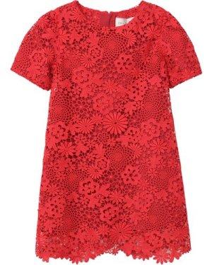 Short-sleeved lace dress CHARABIA KID GIRL
