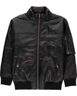 Plaited Sleeve Jacket