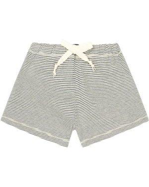 Striped Jersey Shorts