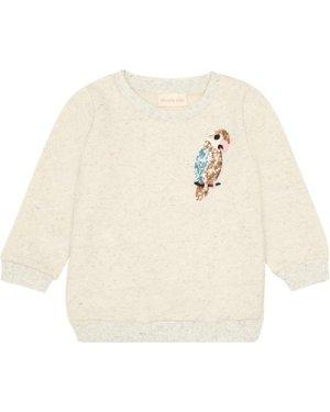 Sequin Parrot Sweatshirt