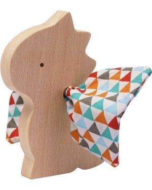 Dragonneau Wooden Figurine