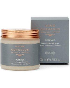 Karen Millen Grow Gorgeous Detoxifying Scalp Scrub 200ml -, Clear