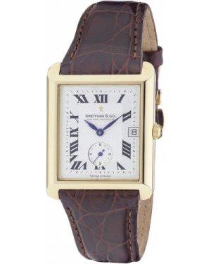 Mens Dreyfuss Co 1974 18ct Gold Watch DGS10002/21