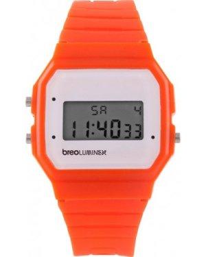 Breo Luminex Orange/White WATCH B-TI-LX18