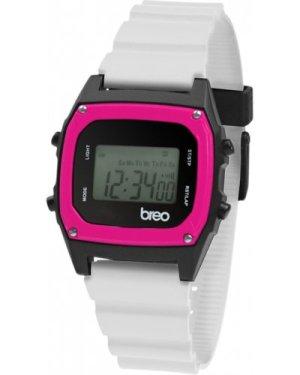 Breo Binary White Pink WATCH B-TI-BIN83
