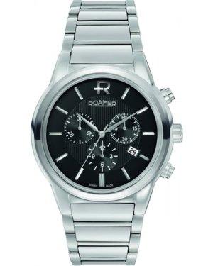 Mens Roamer Swiss Elegance Chronograph Watch 507837415550