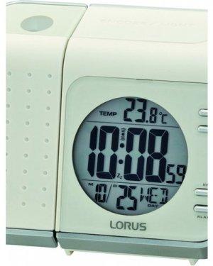 Lorus Clocks LCD Bedside Alarm Clock LHL029W
