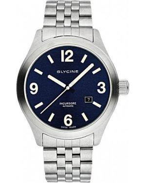 Mens Glycine Incursore III 44mm Automatic Watch 3900.18-MB