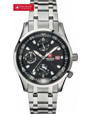 Mens Swiss Military Hanowa Discovery Multi-Function Watch 6-5192.04.007