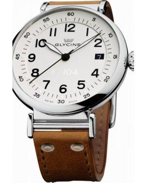 Mens Glycine F104 40mm Automatic Watch 3933.14T-LB7R