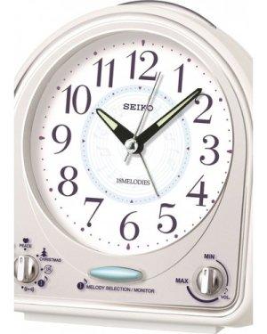 Seiko Clocks Melody Bedside Alarm Clock QHP003W