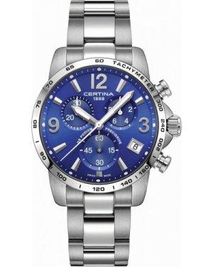 Mens Certina DS Podium Precidrive Chronograph Watch C0344171104700