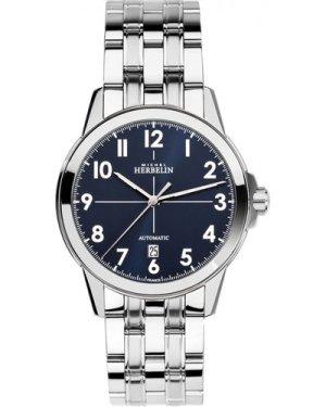 Mens Michel Herbelin Ambassador Automatic Watch 1650/B25