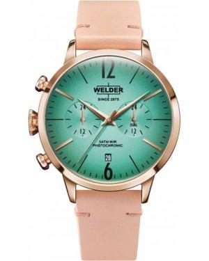 Unisex Welder The Moody 42mm Dual Time Watch K55/WWRC209