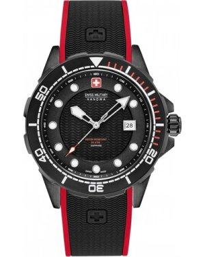 Mens Swiss Military Hanowa Neptune Diver Watch 06-4315.13.007