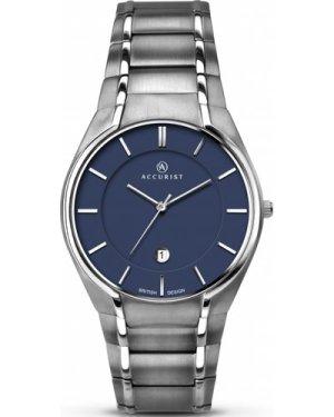 Mens Accurist London Classic Titanium Watch 7138