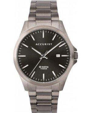 Accurist Mens Titanium Bracelet Watch 7310