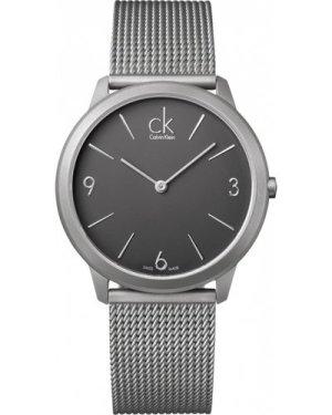 Mens Calvin Klein Minimal Watch K3M51154