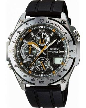Mens Casio Wave Ceptor Alarm Chronograph Radio Controlled Watch WVQ-570E-1AVER