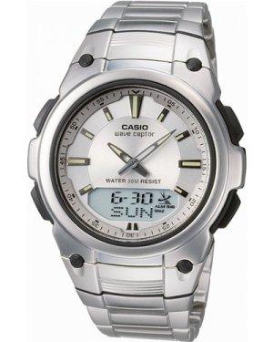 Mens Casio Wave Ceptor Alarm Chronograph Radio Controlled Watch WVA-109HDE-7AVER