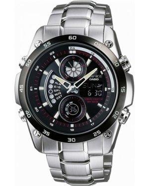 Mens Casio Edifice Wave Ceptor Alarm Chronograph Watch ECW-M100DB-1AVER