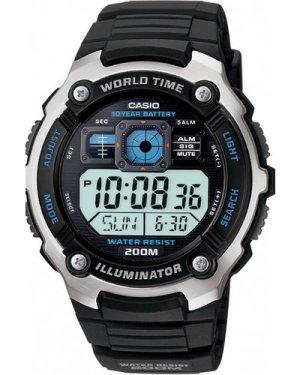 Mens Casio Charity Appeal World Timer Alarm Chronograph Watch AE-2000WWSCA-1AVEF