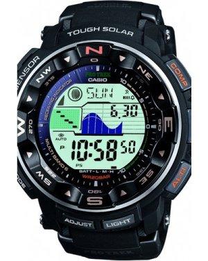 Mens Casio Pro Trek Alarm Chronograph Watch PRW-2500-1ER