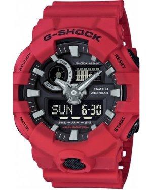 Mens Casio G-Shock Alarm Chronograph Watch GA-700-4AER