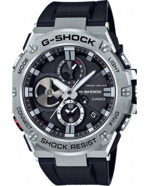 Mens Casio G-Steel Bluetooth Triple Connect Chronograph Radio Controlled Watch GST-B100-1AER