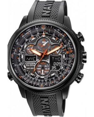 Mens Citizen Navihawk Alarm Chronograph Radio Controlled Eco-Drive Watch JY8035-04E