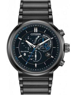 Mens Citizen Bluetooth Proximity Hybrid Smartwatch Alarm Eco-Drive Watch BZ1005-51E