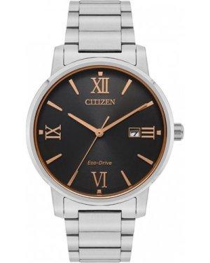 Citizen Gents Eco-Drive Bracelet Two Tone Titanium Watch