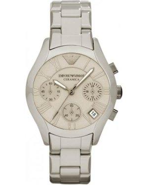 Mens Emporio Armani Ceramic Chronograph Watch AR1460