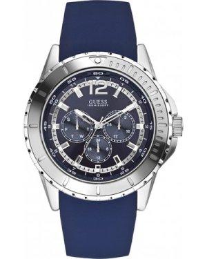 Mens Guess Maverick Chronograph Watch W0485G3