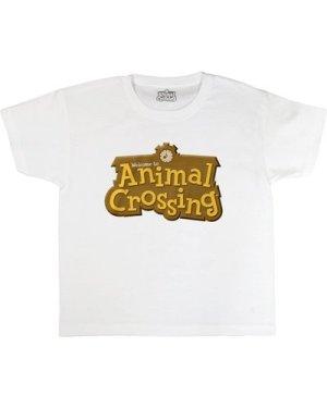 Animal Crossing 3D Logo Girls T-Shirt