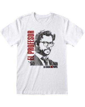 La Casa De Papel Money Heist El Professor Women's Boyfriend Fit T-Shirt
