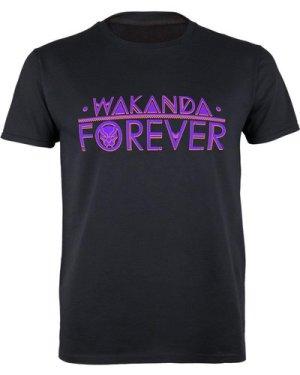Marvel Black Panther Wakanda Forever Logo Women's Boyfriend Fit T-Shirt