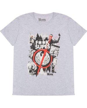 The Boys Supes Graffiti Men's T-Shirt