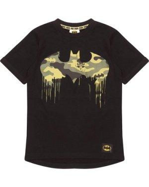 DC Comics Batman Camo Logo Girls T-Shirt