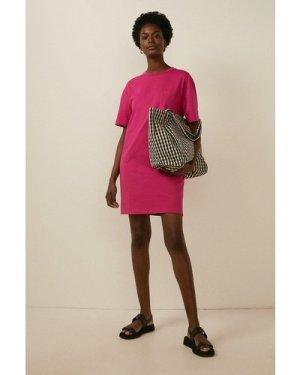 Womens Organic Cotton T Shirt Dress