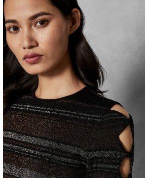Stripe Bow Detail Dress