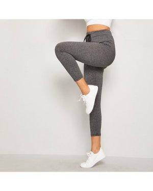 Drawstring Waist Skinny Leggings